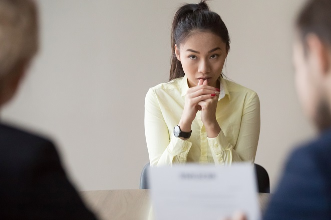 What to do if your mind goes blank in a job interview - Viewpoint Viewpoint – careers advice blog